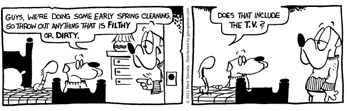 Early Spring Cleaning