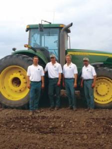 Todd, Kurt, Scott, and Jody of Michael Farms