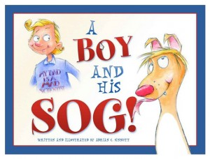 "Adrian Sinnott's latest book, ""A Boy and His Sog."""
