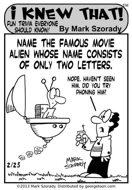 I Knew That alien movie