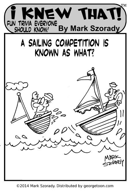 I Knew That sail